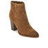 Sam Edelman Women's Blake Suede Heeled Ankle Boots - Woodland Brown: Image 2