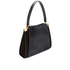 Lulu Guinness Women's Collette Large Leather and Suede Shoulder Bag - Black: Image 3