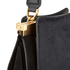 Lulu Guinness Women's Collette Small Leather and Suede Grab Bag  - Black: Image 7