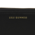 Lulu Guinness Women's Small Zip Around Wallet - Black: Image 3