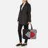 Lulu Guinness Women's Larysa 50:50 Lips Large Stripe Tote Bag - Black/White/Red: Image 2