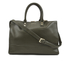 Lulu Guinness Women's Daphne Medium Smooth Leather Tote - Dark Sage: Image 1