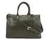 Lulu Guinness Women's Daphne Medium Smooth Leather Tote - Dark Sage: Image 1