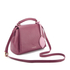 Lulu Guinness Women's Rita Small Shoulder Bag with Lip Charm - Cassis: Image 3
