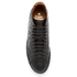 Vivienne Westwood MAN Men's High Top Embossed Squiggle Leather Trainers  - Black: Image 3