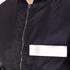 MSGM Men's Bomber Jacket with Reflective Strip - Black: Image 5