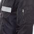 MSGM Men's Bomber Jacket with Reflective Strip - Black: Image 6