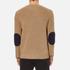 MSGM Men's Contrast Pocket Knitted Jumper - Brown: Image 3