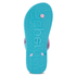 Superdry Women's Flip Flops - Blue Atol/Imperial Pink: Image 5