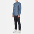 PS by Paul Smith Men's Long Sleeve Shirt - Indigo: Image 4