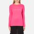 Bella Freud Women's Woman Cashmere Jumper - Pink: Image 1