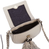 Rebecca Minkoff Women's Isobel Tassel Saddle Crossbody Bag - Khaki: Image 5