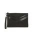 WANT LES ESSENTIELS Women's Barajas Zip Folio - Black Nubuck Stripe: Image 1