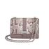 Aspinal of London Women's Lottie Python Bag - Chanterelle/Natural: Image 1