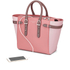 Aspinal of London Women's Marylebone Medium Tote - Rose Dust/Dusky Pink/Chanterelle: Image 3