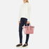 Aspinal of London Women's Marylebone Medium Tote - Rose Dust/Dusky Pink/Chanterelle: Image 5