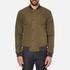 Barbour X Steve McQueen Men's Green Jacket - Army Green: Image 1