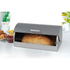 Salter Marble Collection Grey Classic Bread Bin: Image 2