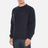 Barbour Heritage Men's Standards Sweatshirt - Navy: Image 2