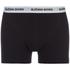 Bjorn Borg Men's Contrast Solids Triple Pack Boxer Shorts - Black: Image 4