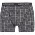 Bjorn Borg Men's 3 Pack Check Detail Boxer Shorts - Black: Image 5