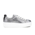 KENZO Women's K-Lace Low Top Trainers - Silver: Image 1