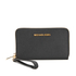 MICHAEL MICHAEL KORS Jet Set Travel Phone Purse - Black: Image 1