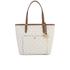 MICHAEL MICHAEL KORS Large Top Zip Pocket Tote Bag - Cream: Image 1