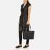 MICHAEL MICHAEL KORS Jet Set Travel Chain Top Zip Tote Bag - Black: Image 2