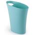 Umbra Skinny Waste Can - Surf Blue: Image 1