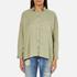 Superdry Women's Tencel Delta Shirt - Salt Wash Khaki: Image 1
