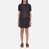 Maison Scotch Women's Straight Fit Zipper Dress - Blue: Image 1
