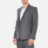 Carven Men's Double Breasted Blazer - Gris Chine: Image 2