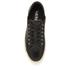 Lauren Ralph Lauren Women's Waverly Leather Trainers - Black: Image 3