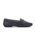 Lauren Ralph Lauren Women's Carley Leather Loafers - Modern Navy: Image 1