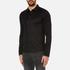 HUGO Men's Delato Long Sleeve Mercerised Polo Shirt - Black: Image 2