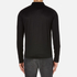 HUGO Men's Delato Long Sleeve Mercerised Polo Shirt - Black: Image 3