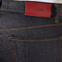 HUGO Men's Hugo 708 Straight Leg Jeans - Raw Wash: Image 4