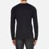 HUGO Men's San Francisco Cotton Silk Cashmere Jumper - Navy: Image 3