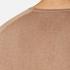 HUGO Men's San Francisco Cotton Silk Cashmere Jumper - Light/Pastel Brown: Image 7