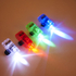 Multicoloured Strap on LED Finger Lights: Image 1