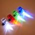 Multicoloured Strap on LED Finger Lights: Image 1