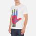 YMC Men's Hamsa Psych T-Shirt - White: Image 2