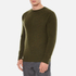 YMC Men's Suedehead Brushed Jumper - Loden: Image 2