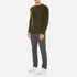 YMC Men's Suedehead Brushed Jumper - Loden: Image 4