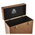 GPO Retro Portable Carry Case for LP Records and 12-Inch Vinyl - Brown: Image 4