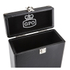 GPO Retro Portable Carry Case for 7-Inch Vinyl Records - Black: Image 4