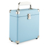 GPO Retro Portable Carry Case for 7-Inch Vinyl Records - Blue: Image 1