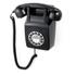 GPO Retro 746 Push Button Wall Telephone - Black: Image 1
