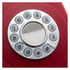 GPO Retro 746 Push Button Telephone - Red: Image 2